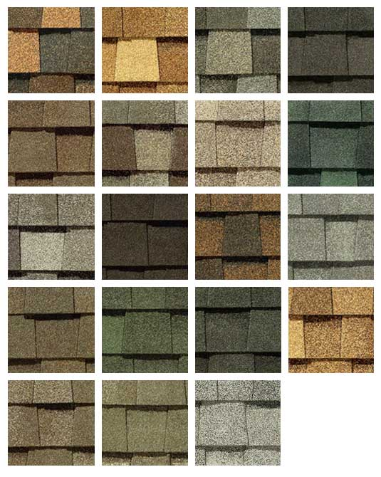 Roofing colors truslate slate color greystone for Roof color