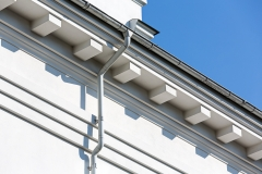 House Roof With Gutter
