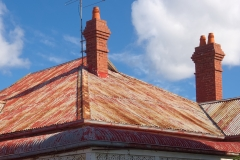 Two Chimneyed Roof
